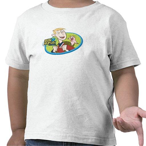 Ron y Rufus Disney Camisetas