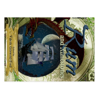 Ron y tarjetas rechonchas de Runestones Tarjetas De Visita Grandes