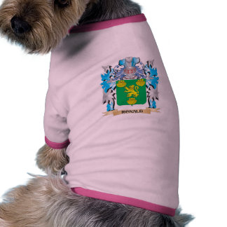 Ronald Coat of Arms - Family Crest Doggie T-shirt