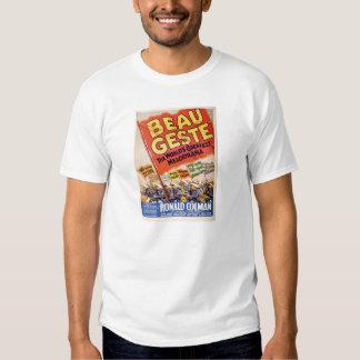Ronald Colman 1927 silent movie exhibitor ad T-shirt