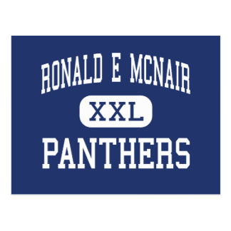 Ronald E McNair - Panthers - Junior - Lake City Postcard