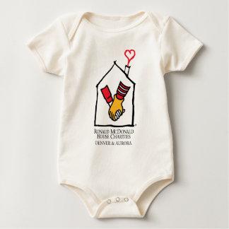 Ronald McDonald Hands Baby Bodysuit