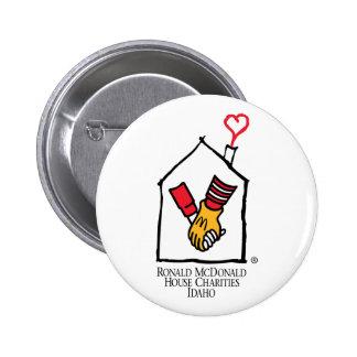 Ronald McDonald Hands Button