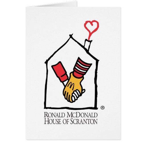 Ronald McDonald Hands Card