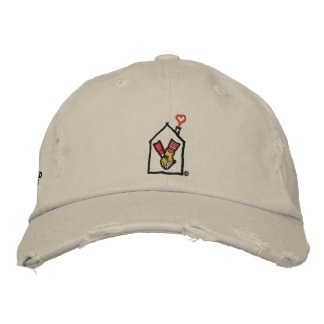 Ronald McDonald Hands Embroidered Baseball Hat