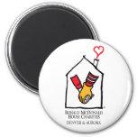 Ronald McDonald Hands Fridge Magnet