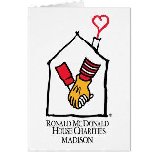 Ronald McDonald Hands Greeting Cards