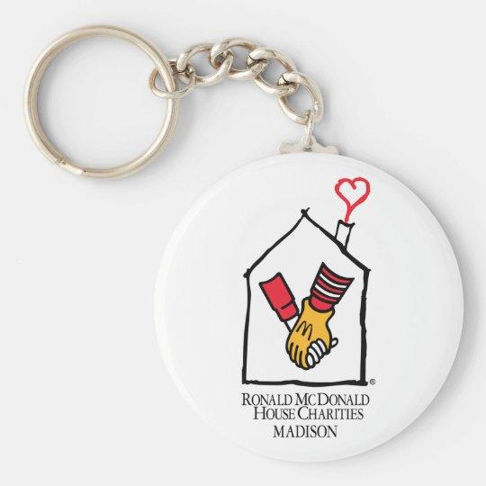 Ronald McDonald Hands Keychain
