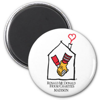 Ronald McDonald Hands Magnet