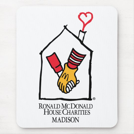 Ronald McDonald Hands Mouse Pad
