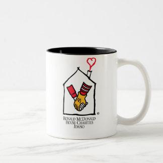 Ronald McDonald Hands Two-Tone Coffee Mug