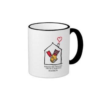 Ronald McDonald Hands Coffee Mugs