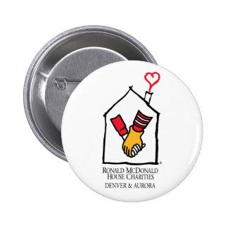 Ronald McDonald Hands Pinback Button
