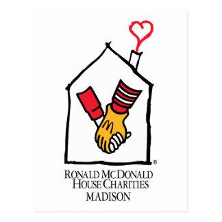 Ronald McDonald Hands Post Card