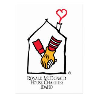 Ronald McDonald Hands Postcard