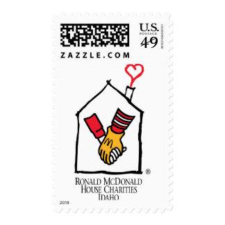 Ronald McDonald Hands Stamp