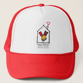 Ronald McDonald Hands Trucker Hat