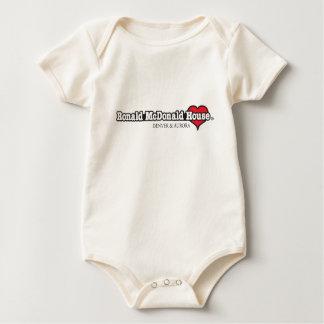 Ronald McDonald Heart Baby Bodysuit