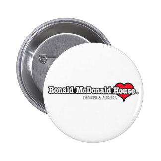 Ronald McDonald Heart Pinback Buttons