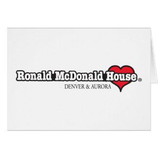 Ronald McDonald Heart Card