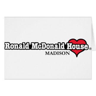 Ronald McDonald Heart Greeting Card