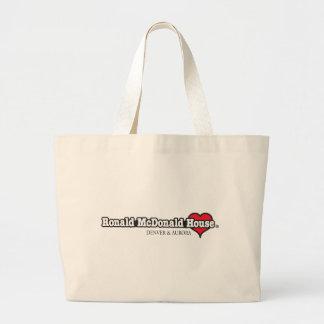 Ronald McDonald Heart Large Tote Bag