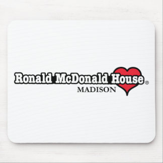 Ronald McDonald Heart Mouse Pad