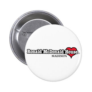 Ronald McDonald Heart Pinback Button