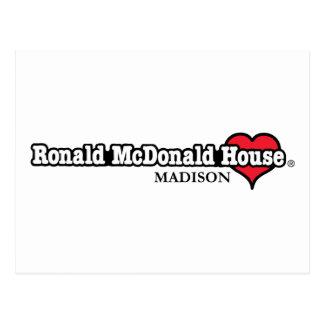 Ronald McDonald Heart Post Card