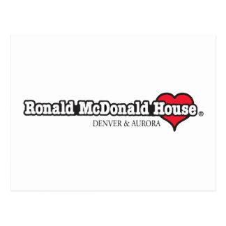 Ronald McDonald Heart Postcard