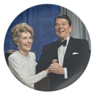 Ronald & Nancy Reagan Plate