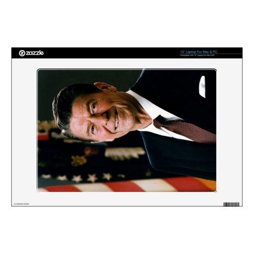 """Ronald Reagan 13"""" Laptop Decal"""