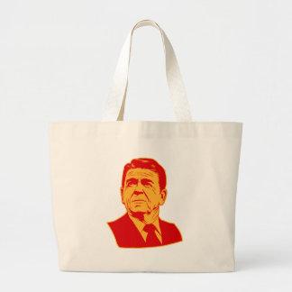 Ronald Reagan 1980 retro portrait Bags