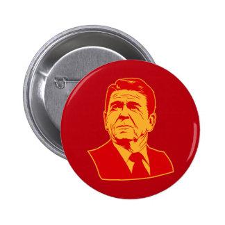 Ronald Reagan 1980 retro portrait Button