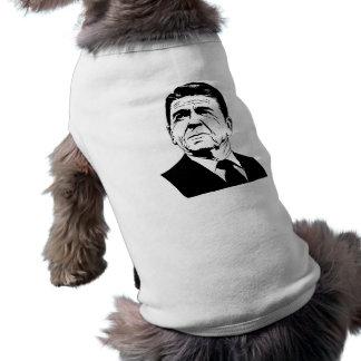 Ronald Reagan 1980 retro portrait Pet Clothes