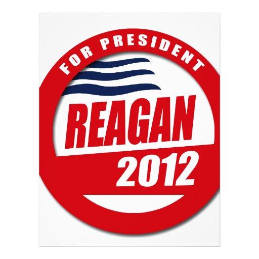 Ronald Reagan 2012 Personalized Letterhead