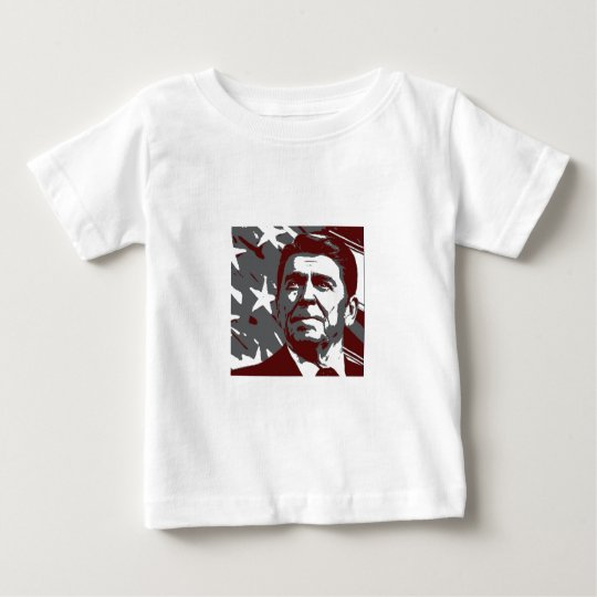 Ronald Reagan 40th President of the USA Baby T-Shirt