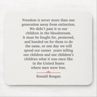 Ronald Reagan Alfombrillas De Ratones