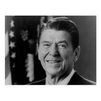 Ronald Reagan B W Portrait Post Cards