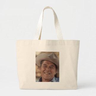 Ronald Reagan Canvas Bags