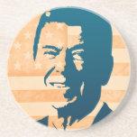 Ronald Reagan Beverage Coaster