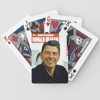 Ronald Reagan Bicycle Playing Cards
