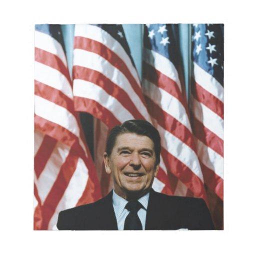 Ronald Reagan Blocs De Papel
