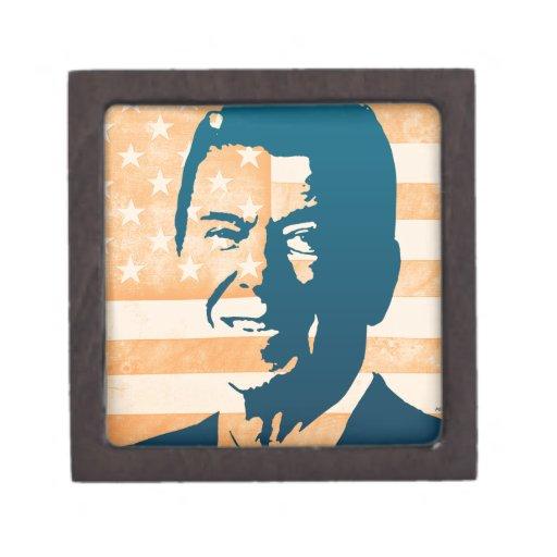 Ronald Reagan Caja De Joyas De Calidad