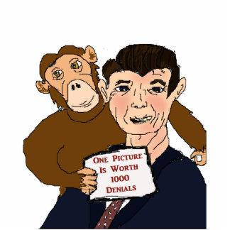 Ronald Reagan Caricature Photo Sculpture