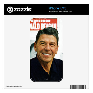 Ronald Reagan Decals For iPhone 4