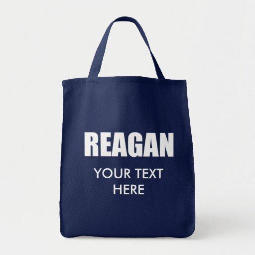 RONALD REAGAN Election Gear Tote Bag