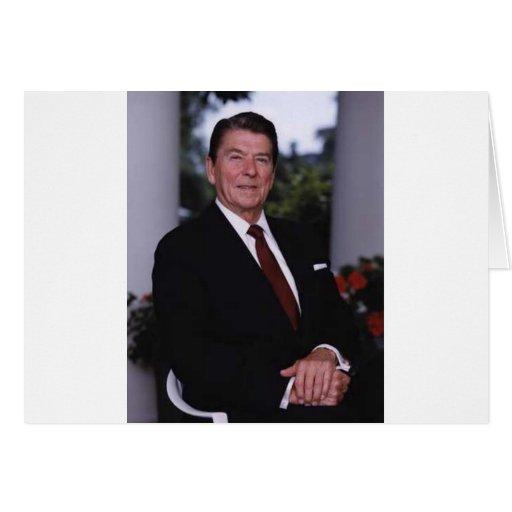 Ronald Reagan Felicitación