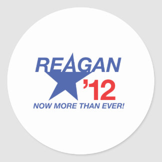 Ronald Reagan for President Classic Round Sticker