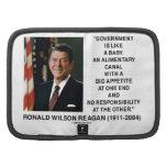 Ronald Reagan Gov't Like A Baby Alimentary Canal Organizer